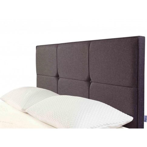 Tempur® Ardennes Buttoned Headboard (Double) - Doubl...