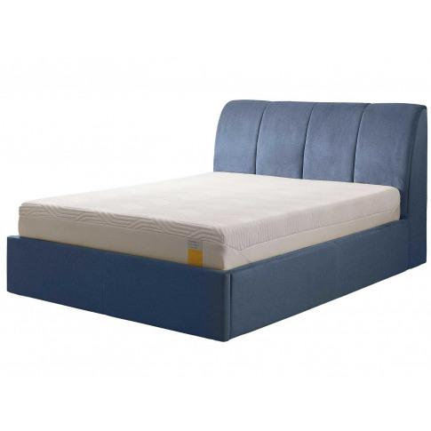 Tempur® Harrington Ottoman (Double) - Double 135x190cm (4'6'') - Twill Blue Grey