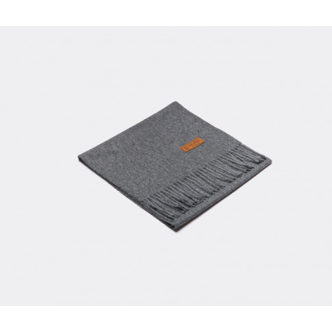 Innata Textile And Rugs - 'Scarf Essential', Dark Gr...