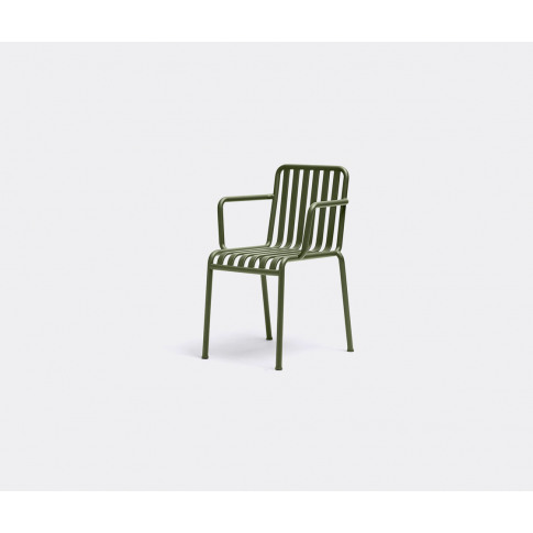 Hay Seating - 'Palissade' Armchair In Olive Electro-Galvanized Powder Coat