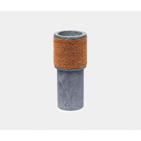 Estudio Campana Vases - Vase, Large In Grey, Brown S...