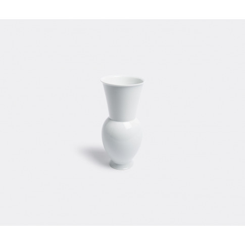 Kpm Berlin Vases - 'Halle Vase 3' In White Porcelain