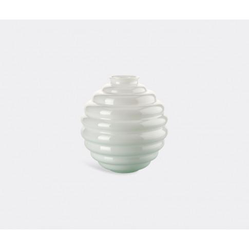 Venini Vases - 'Deco' Vase, Clear In Transparent Glass