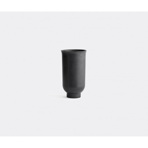 Menu Vases - 'Cyclades' Vase, Small In Black Ceramic