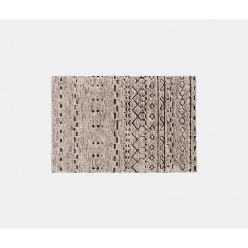 Gan Rugs - 'Bereber' Rug In Multicolor 100% New Wool