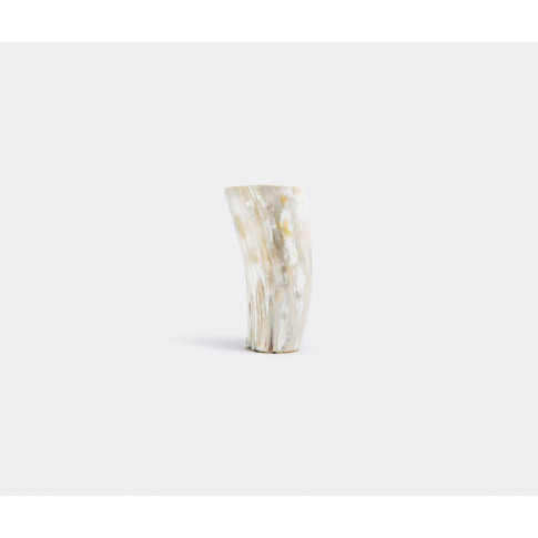 Arcahorn Vases - Flower Vase, Medium In Light Horn H...