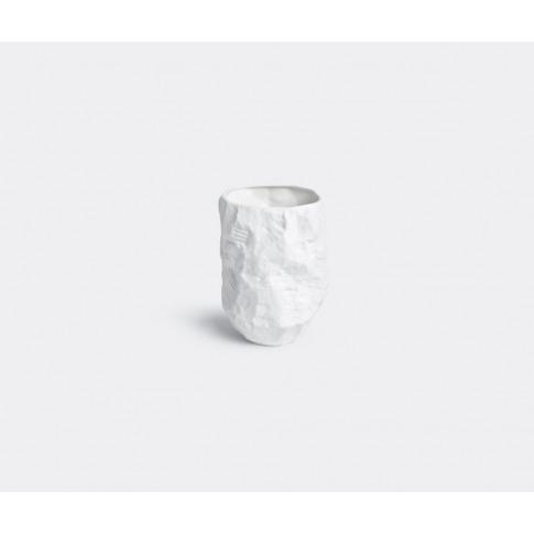 1882 Ltd Vases - 'Crockery' Vase In White Fine Bone ...