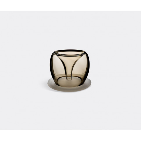 Valner Glass Vases - Glass Plant Pot, Medium In Oliv...