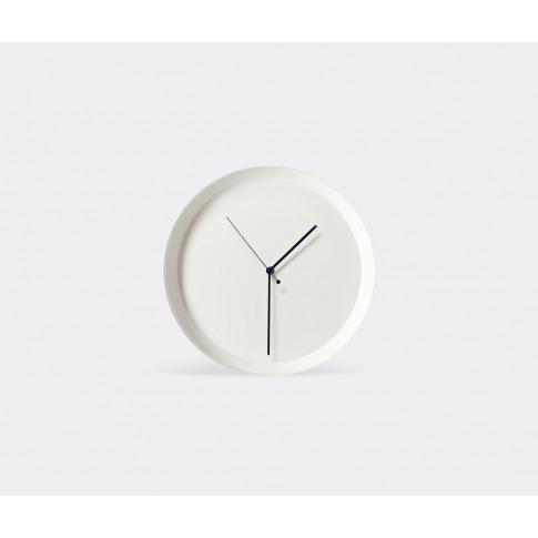 Atipico Mirrors And Clocks - 'Dish' Wall Clock, Whit...