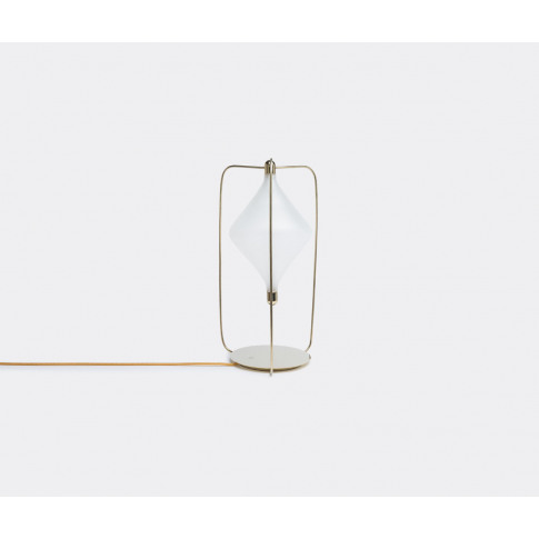 Lasvit Lighting - 'Clover' Table Lamp In Gold, White...
