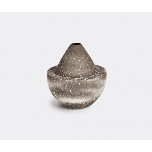Sophie Dries Architect Vases - 'Uxmal' Vase In Dark ...