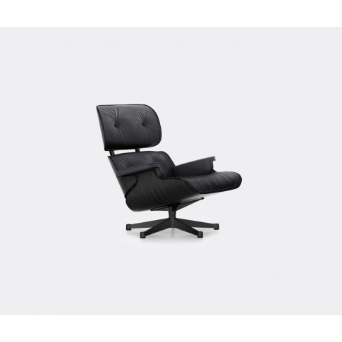 Vitra Furniture - 'Lounge Chair', Black Ash In Black...