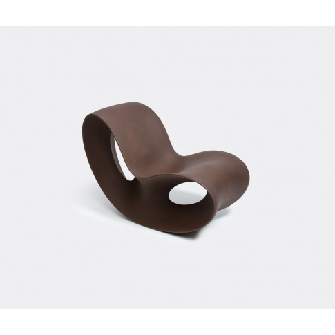 Magis Furniture - 'Voido' rocking chair in Rust Brow...