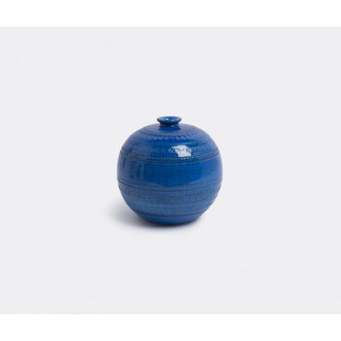 Bitossi Ceramiche Vases - 'Rimini Blu' Ball Vase In ...