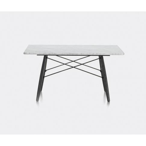 Vitra Furniture - 'Eames Coffee Table' in White, bla...