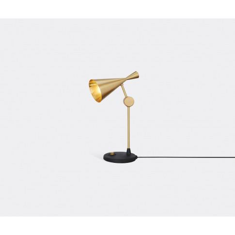 Tom Dixon Lighting - 'Beat' Table Lamp In Brass Brass