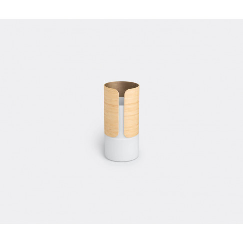 Jia Inc. Vases - 'Transit' Vase, Small In Brown, Whi...