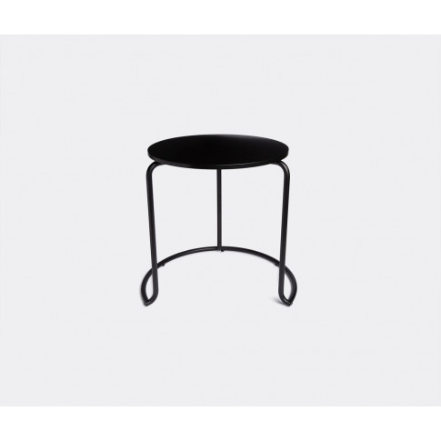 Artek Furniture - '606' Side Table, Black In Black B...