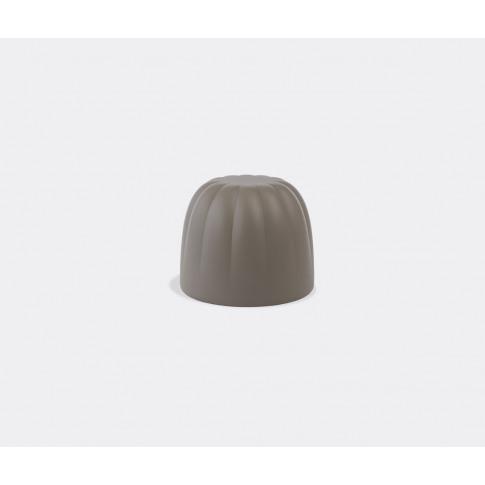 Slide Seating - 'Gelée' Pouf In Soft Argil Polyethylene
