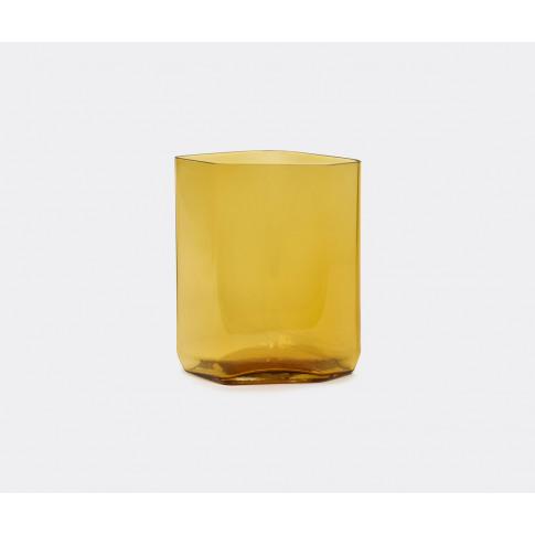 Serax Vases - 'Silex' Vase, L, Yellow In Yellow Glass