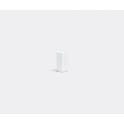 Lyngby Porcelæn Vases - Vase, Mini In Glossy White P...