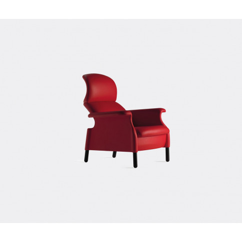 Poltrona Frau Seating - 'Sanluca' Armchair In Red Up...