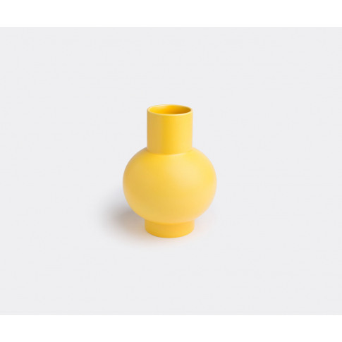 Raawii Vases - 'Strøm' Vase, Large In Yellow Faience