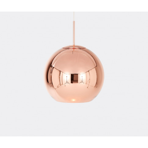 Tom Dixon Lighting - 'Copper' Pendant Light, 450mm I...
