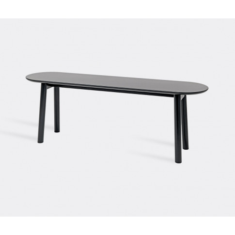 Schönbuch Furniture - Large 'Mala' Bench, Black In S...