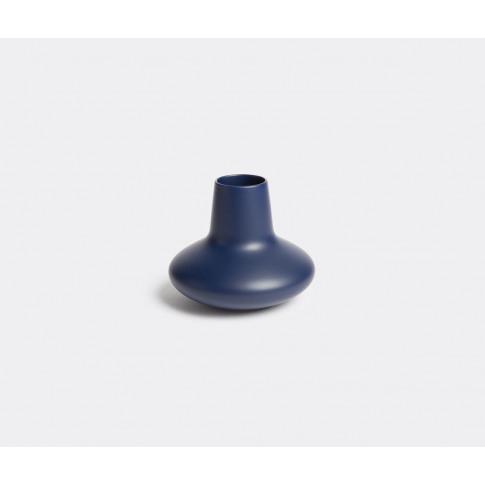 Georg Jensen Vases - 'Koppel Wave' Blue Vase, Small ...