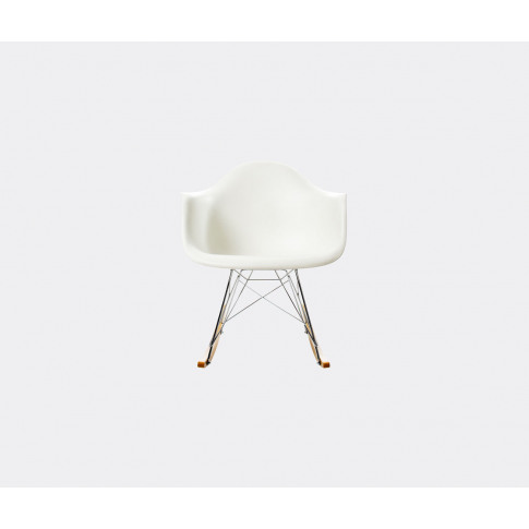 Vitra Seating - 'Rocking Armchair Rod Base' In White...