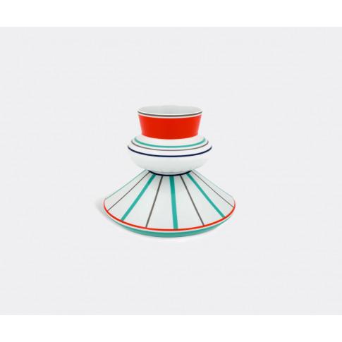 Vista Alegre Vases - 'Triadic Trinity' Vase In Multi...