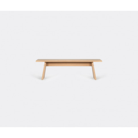 Cruso Seating - 'June' Bench In Natural Solid Oak