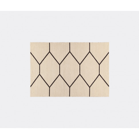 Amini Carpets Rugs - 'Lune Arena' Rug, White In Whit...