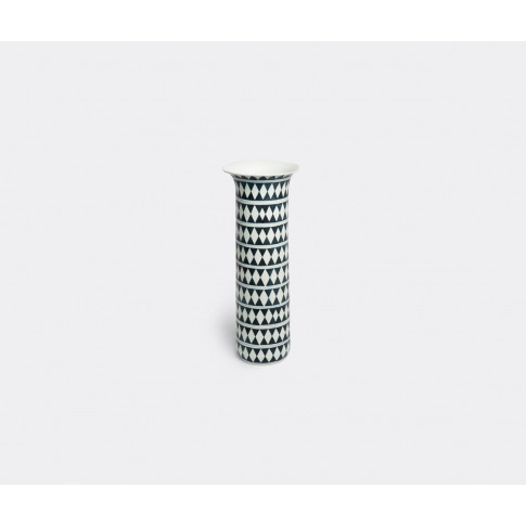L'Objet Vases - 'Tribal Diamond' Vase, Large In Blac...