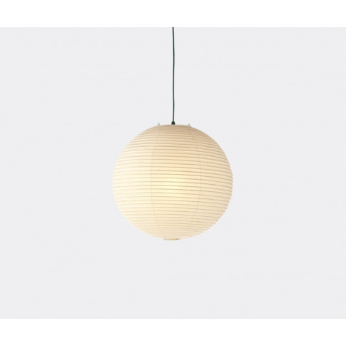 Vitra Lighting - 'Akari 45a' Ceiling Lamp In White Washi Paper, Metal