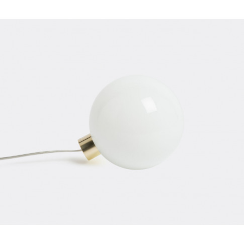 Minimalux Lighting - 'Bulb' Table Lamp In Brass, Opa...