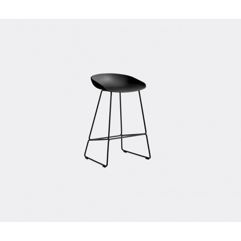 Hay Seating - 'About A Stool Aas 38', High In Black ...