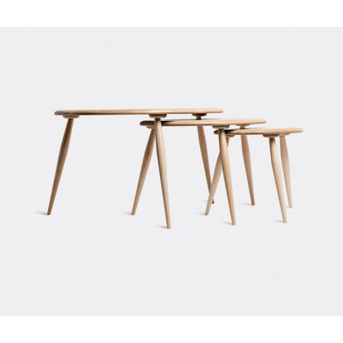 Ercol Furniture - 'Originals' Nesting Tables, Set Of...