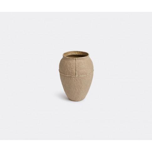Serax Vases - 'Paperpulp' Vase, Large In Brown Recyc...