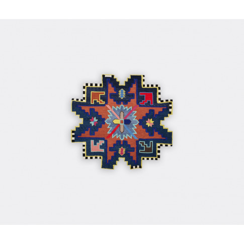 Cc-Tapis Textile And Rugs - 'Kazak Space Shifter' Ru...