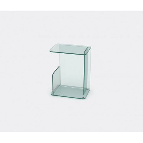 Case Furniture Furniture - 'Lucent' Side Table, Clear In Clear Toughned Glass