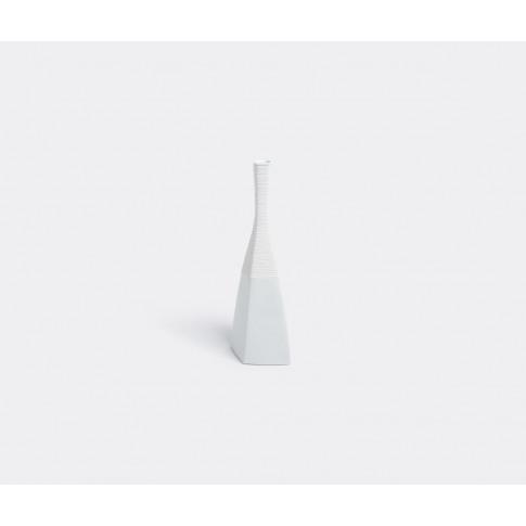 Kpm Berlin Vases - 'Mantille' Vase In White Porcelain