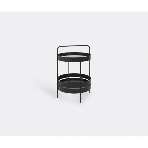 Schönbuch Furniture - 'Albert' Side Table, Black In ...