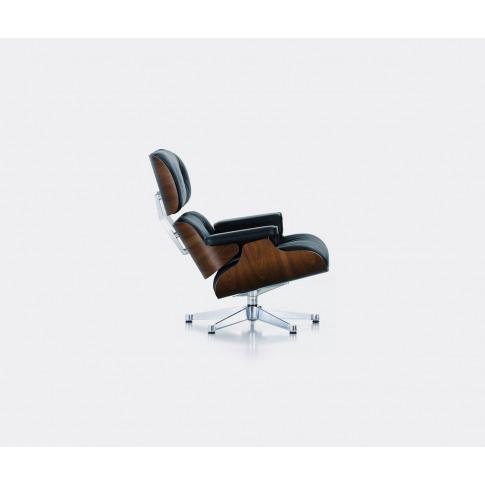Vitra Furniture - 'Lounge Chair', Walnut And Black I...