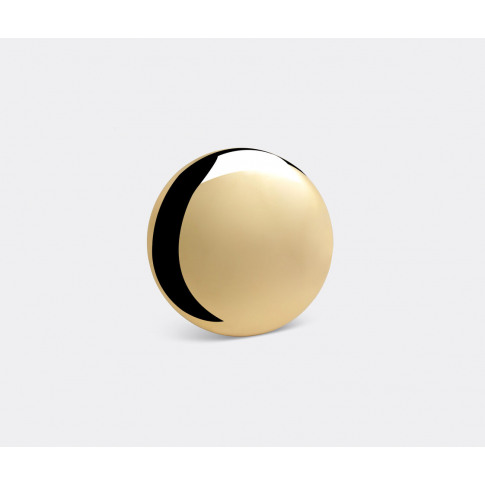 Michael Anastassiades Ltd. Mirrors And Clocks - 'Beauty Mirror', Brass In Gold Polished Brass