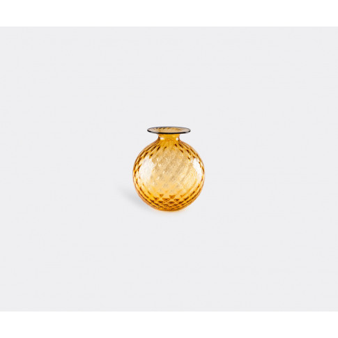 Venini Vases - 'Monofiore' Bottle, S, Yellow In Ambe...