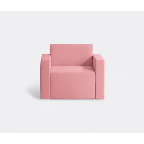 E15 Furniture - 'Kerman' Armchair In Pink Foam Polys...
