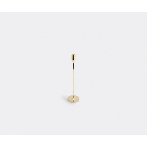 Skultuna Candlelight And Scents - 'Nattlight' Candlestick, Medium In Brass 100% Brass
