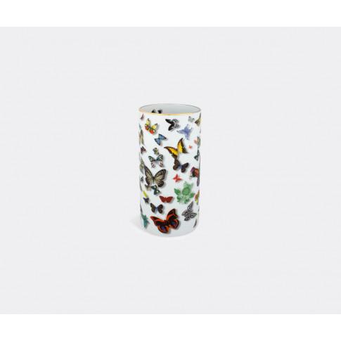 Vista Alegre Vases - 'Butterfly Parade' Vase In Mult...